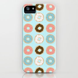 Sweet Sprinkled Donuts iPhone Case