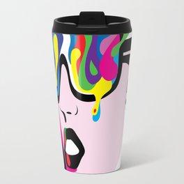 Abstract Vision Travel Mug