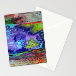 Burning the midnight oil Stationery Cards