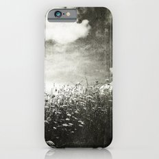 Counting Flowers Like Stars - Black and White Slim Case iPhone 6s