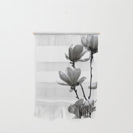 BLACK MAGNOLIA Wall Hanging