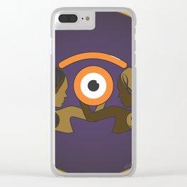 gemin.iris Clear iPhone Case