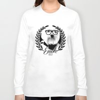 ewok Long Sleeve T-shirts featuring Ewok. A dogs Life  by Kristy Patterson Design