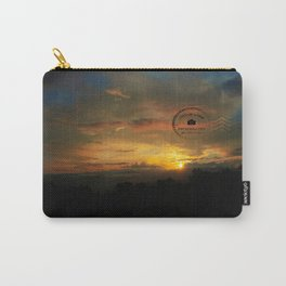 Mountian Sunset 1 with postmark Carry-All Pouch