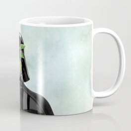 """Darth Vader in """"The Son of a Man"""" by Magritte Coffee Mug"""