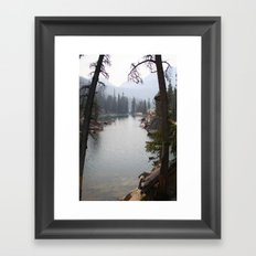 saddleback lake Framed Art Print