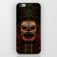 demon iPhone & iPod Skins featuring Demon by Zandonai