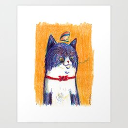 Miau Cat Art Print