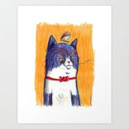Miau Cat Art Print