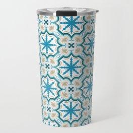 Seamless geometric arabesque oriental pattern. Travel Mug