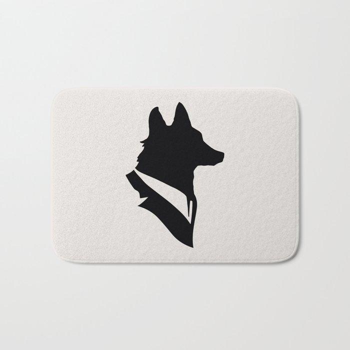 Monsieur Renard / Mr Fox - Animal Silhouette Bath Mat