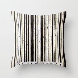 barcode #2 Throw Pillow