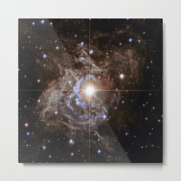 RS Puppis, Cepheid variable star Metal Print