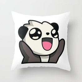 rooHappy Throw Pillow