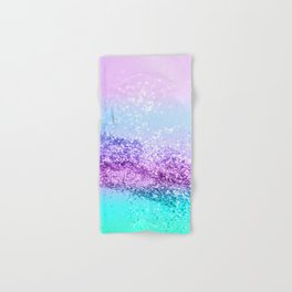 Unicorn Girls Glitter #14 #shiny #decor #art #society6 Hand & Bath Towel