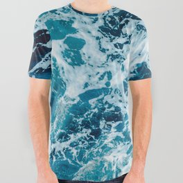 Lovely Seas All Over Graphic Tee