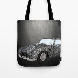 James Bond Aston Martin DB5 Tote Bag