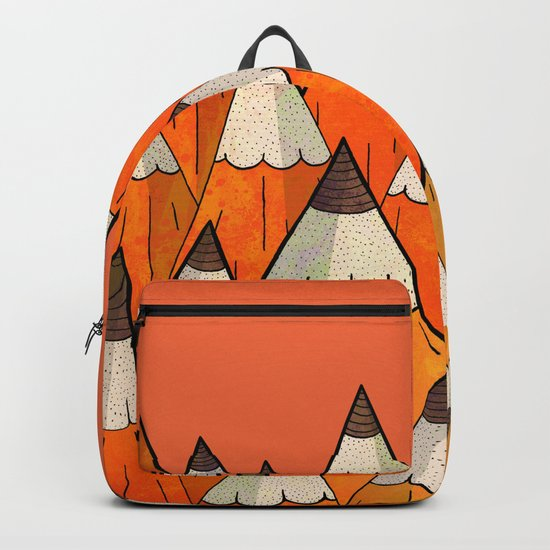 Pencil Mountains Backpack
