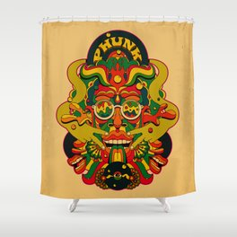 Phunk Monster Shower Curtain