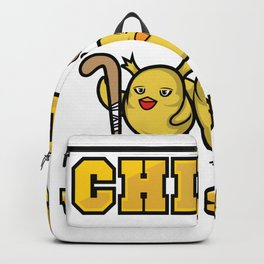 Field hockey ladies girl gift chicks with sticks Backpack