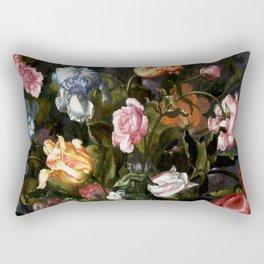 Vase with Flowers Rectangular Pillow