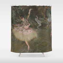 Edgar Degas - The Star Shower Curtain