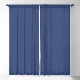 PPG Glidden Daring Indigo (Royal Deep Blue) PPG1166-7 Solid Color Blackout Curtain
