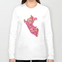 peru Long Sleeve T-shirts featuring Peru by Ursula Rodgers