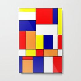 Mondrian No. 84 Metal Print