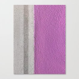 Pink To Gray Pattern Canvas Print