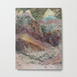 Calico Mountains Metal Print