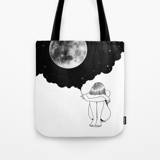 3 Minute Galaxy Tote Bag