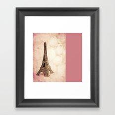 PARIS ~ MON AMOUR Framed Art Print