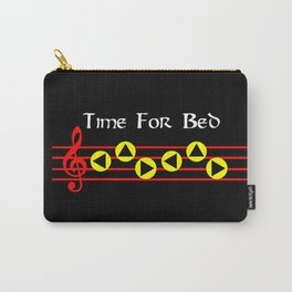 Time For Bed - Zeldas Lullaby (The Legend Of Zelda: Ocarina Of Time) Carry-All Pouch