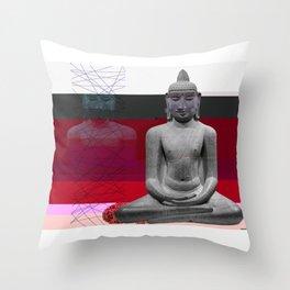 Buddha Variations 3 Throw Pillow