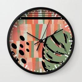 Leafy N. 1 Wall Clock