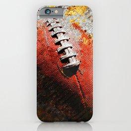Football ball vs 6 iPhone Case