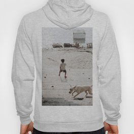 A boy and a dog Hoody