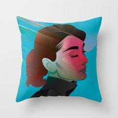 Classy- Audrey Hepburn Throw Pillow