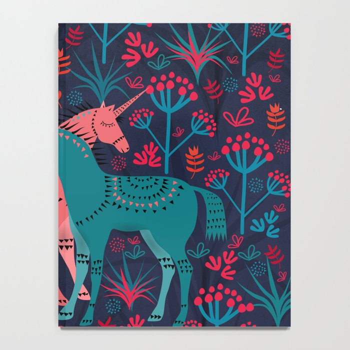 Unicorn Land Notebook