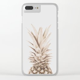 Pineapple a Day Clear iPhone Case