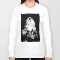 sarah paulson Long Sleeve T-shirts featuring Sarah by Taylor Wessling