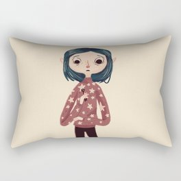 Be Wise, Be Brave, Be Tricky Rectangular Pillow