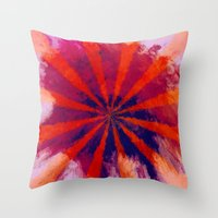 focus Throw Pillows featuring *Focus* by Mr and Mrs Quirynen