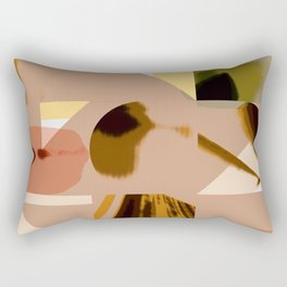 Shapes in Pastel Rectangular Pillow