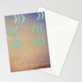 Where the wind blows Stationery Cards