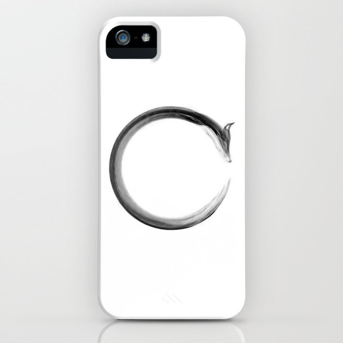 CalmFox Enso iPhone Case
