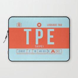 Luggage Tag B - TPE Taipei Taoyuan Taiwan Laptop Sleeve