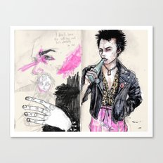 Sid vicious Canvas Print