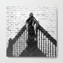 Invisible Climb - Holga photograph Metal Print
